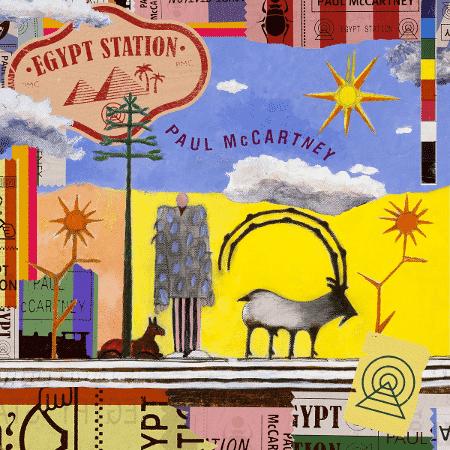 """Capa de """"Egypt Station"""" - Reprodução - Reprodução"""