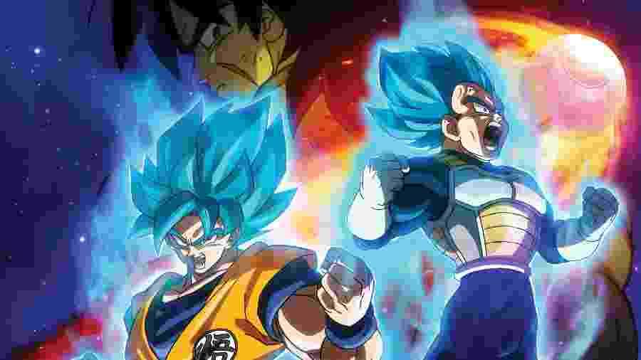"""Pôster de """"Dragon Ball Super Broly"""" - Divulgação/Fox"""
