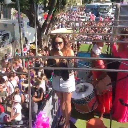 Daniela Mercury protesta contra Jair Bolsonaro  - Reprodução/Instagram