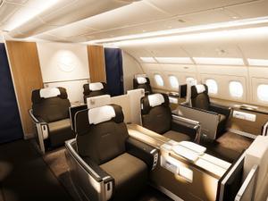 cc32a9011 O que tem nos aviões das companhias aéreas de luxo que operam no Brasil
