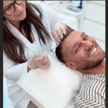 Lucas Lucco passa por tratamento contra calvície - Reprodução/Instagram