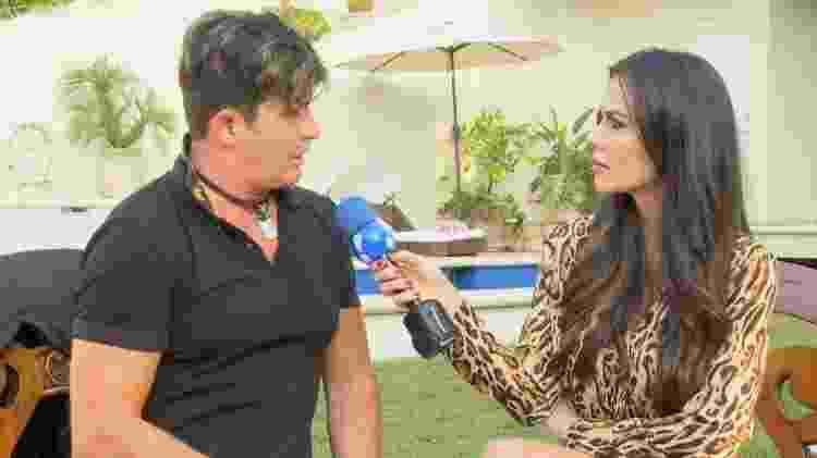 """Dr Rey é entrevistado por Daniela Albuquerque no """"Sensacional"""", que vai ao ar nesta quinta (24) - Divulgação/RedeTV! - Divulgação/RedeTV!"""