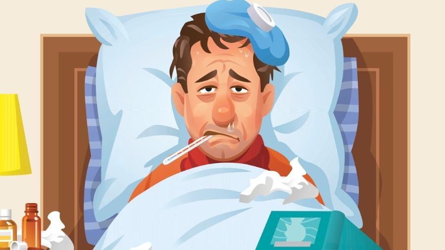 Na perna dor 2018 sintomas de de gripe