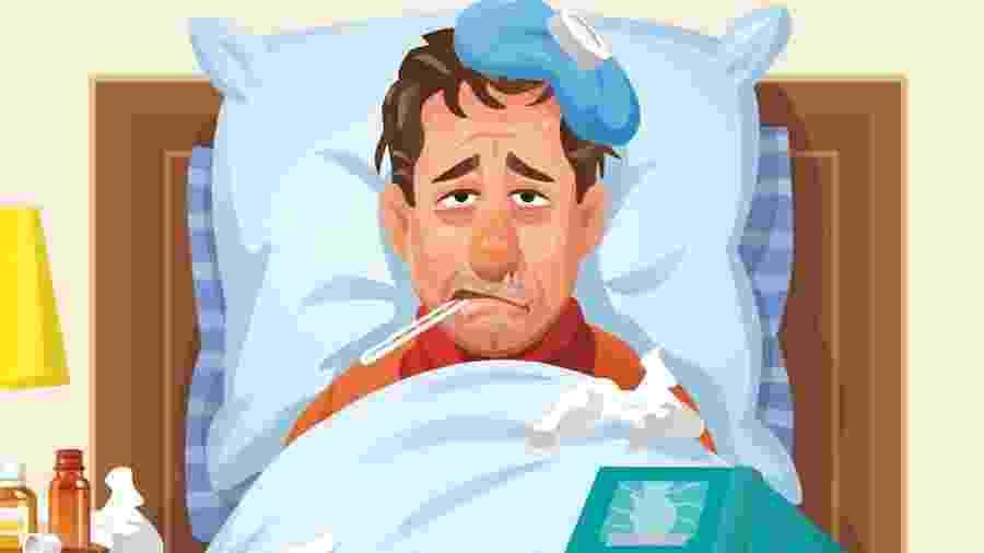 Viroses não têm tratamento específico e geralmente passam após três a dez dias - Getty Images