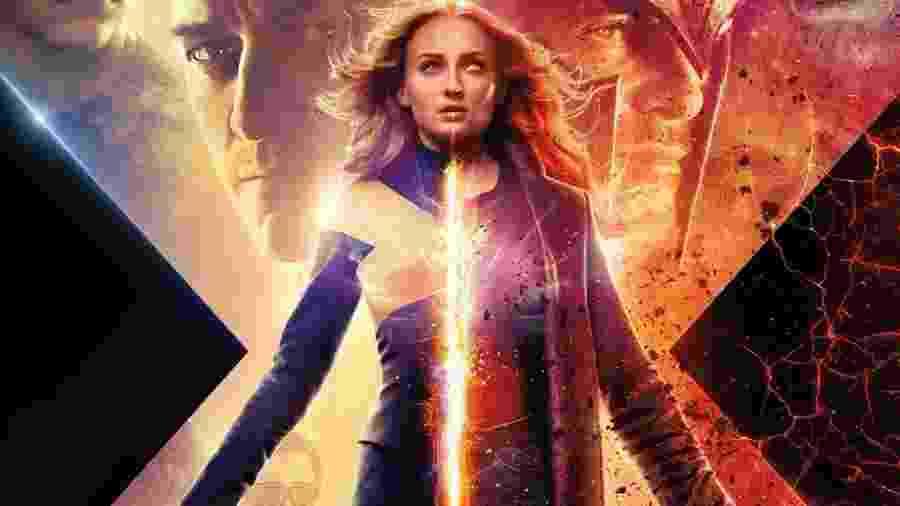 """Detalhe de pôster de """"X-Men: Fênix Negra"""" - Divulgação"""