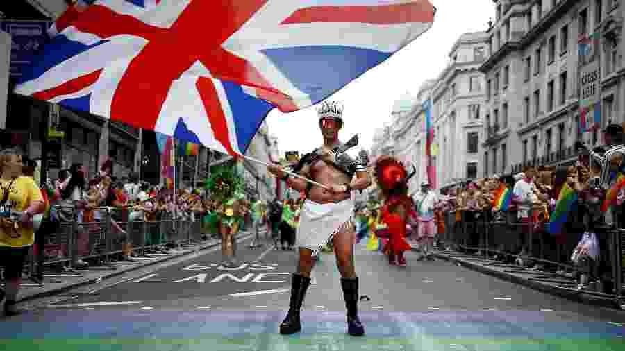 Ruas de Londres recebem Parada LGBTQ+ - REUTERS