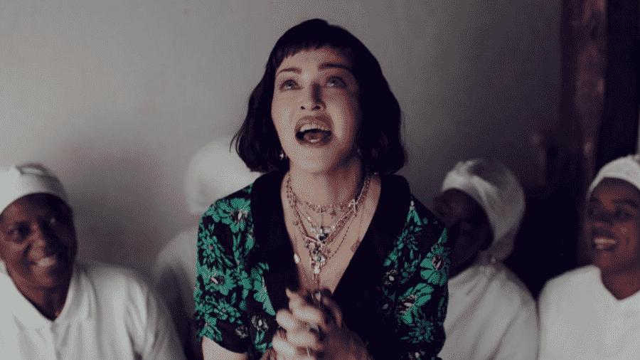 Madonna em Batuka - Reprodução/YouTube