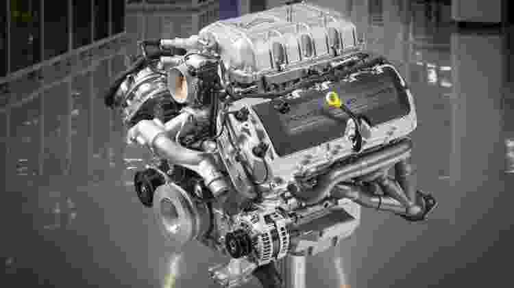 Motor do Ford Mustang Shelby GT500 - Ford/Divulgação - Ford/Divulgação