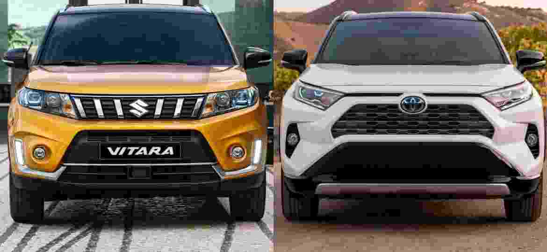 Conterrâneas e agora parceiras, Toyota e Suzuki vão desenvolver projetos para Índia - Divulgação