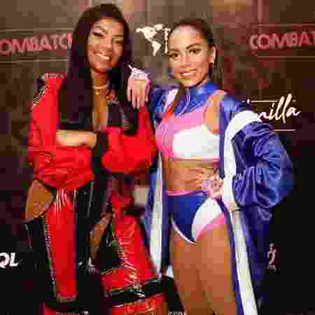 Anitta e Ludmilla têm brigado recentemente - Repodução/Instagram @espacodasamericas