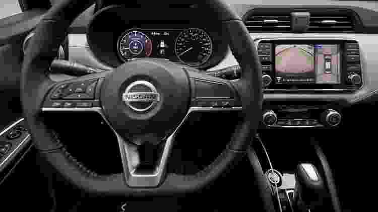 Novo Nissan Versa 2020 cabine - Divugação - Divugação