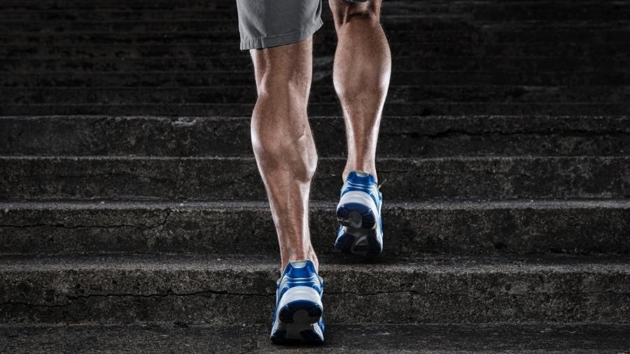 Pernas sensação das de queimação músculos