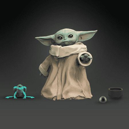 Boneco do Baby Yoda da Hasbro - Divulgação