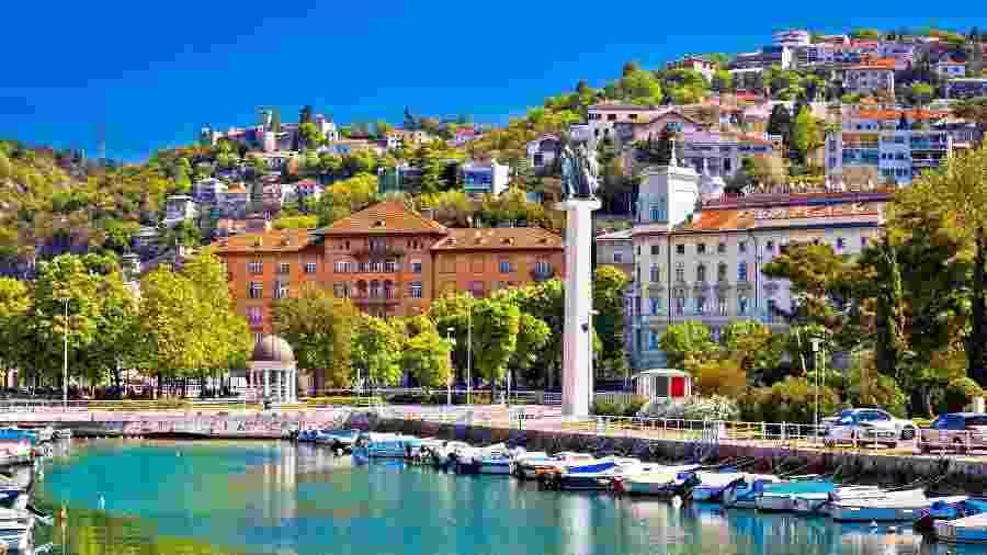 Cidade de Rijeka Delta, na Croácia  - Getty Images/iStockphoto