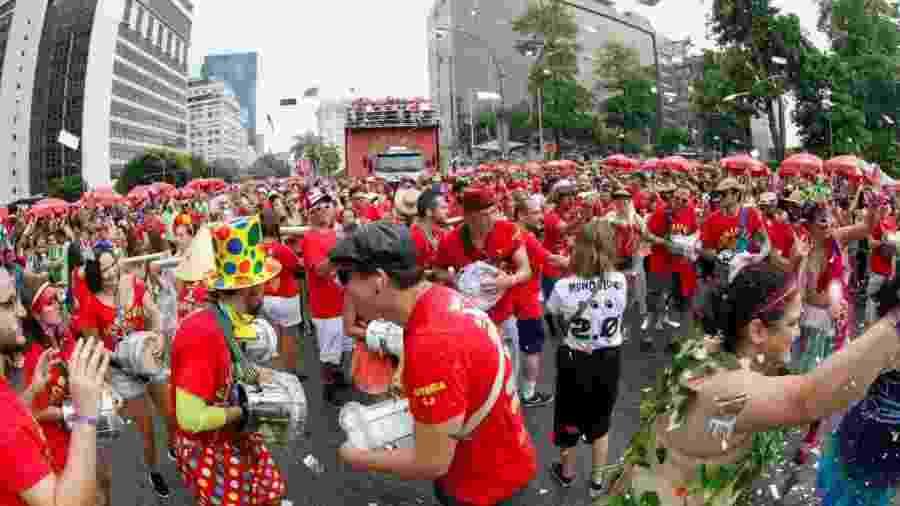 Monobloco, tradicional bloco carnavalesco do Rio de Janeiro - Marcelo de Jesus/UOL