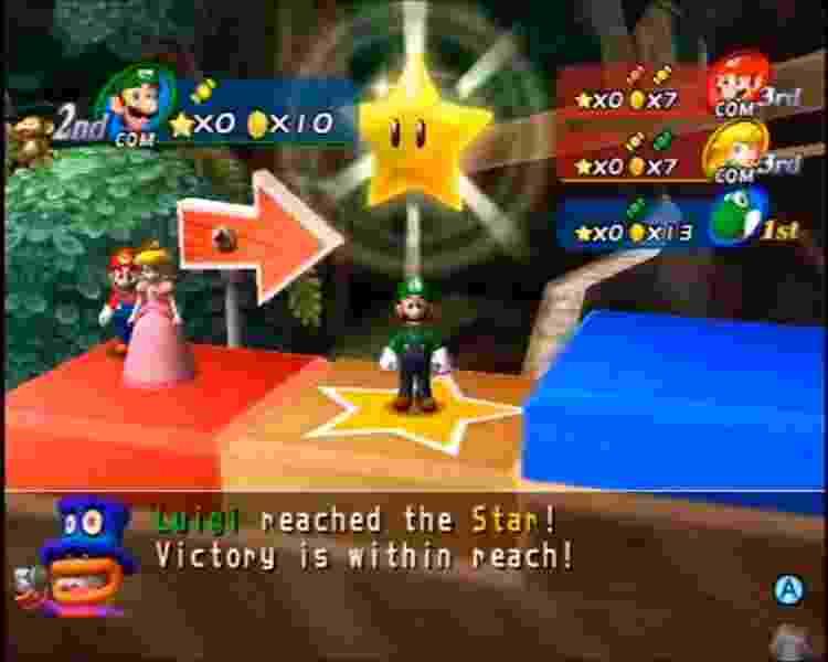 Mario Party 8 (Wii) - Reprodução - Reprodução