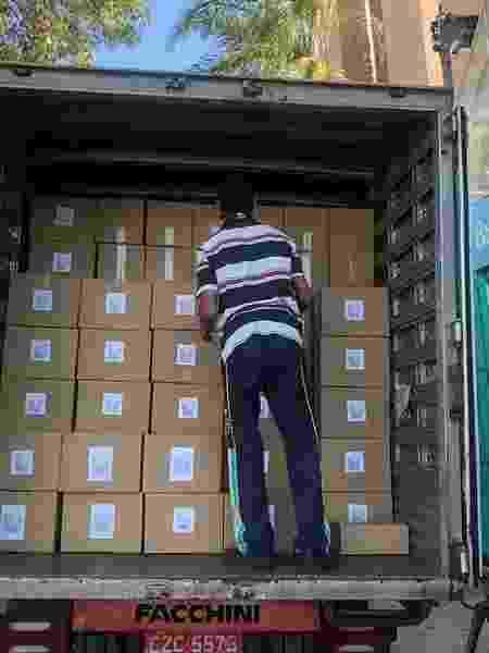 Distribuição de cestas básicas 2 - Divulgação - Divulgação