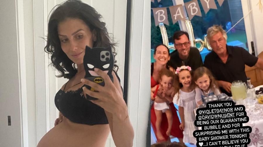 Hilaria e Alec Baldwin já são pais de outras quatro crianças - Reprodução/Instagram
