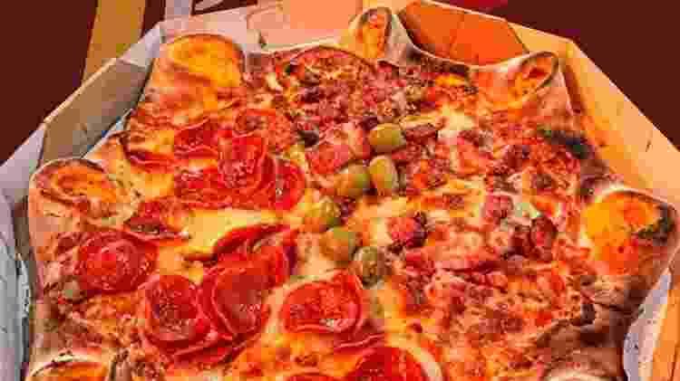 rock pizza - Reprodução/Instagram - Reprodução/Instagram