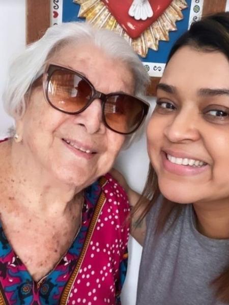 Dona Wangry, avó materna de Preta Gil, morreu ontem aos 96 anos - Reprodução/Instagram