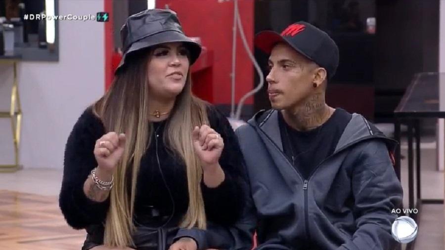 Power Couple: Casal Mari Matarazzo e Matheus Yurley na DR - Reprodução/RecordTV