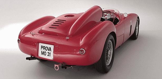 Ferrari 375 Plus traseira - Bonham's - Bonham's