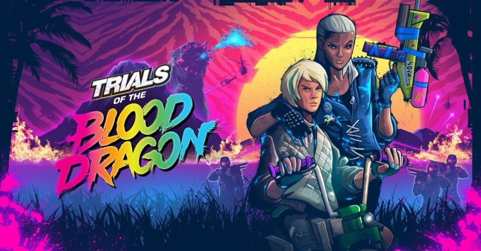 Trials of Blood Dragon