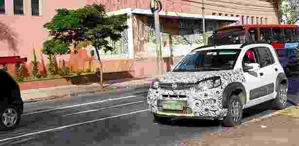 Uno estreia motor 3-cilindros da Fiat junto com nova frente inspirada na Toro - Carine Ferreira/UOL