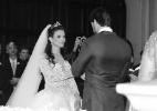 Ex-BBBs Kamilla e Eliéser se casam em cerimônia religiosa em São Paulo (Foto: Leo Franco/AgNews)