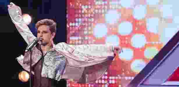 """Participante Diego Martins é um dos destaques da primeira temporada do """"X Factor Brasil"""" - Reprodução/Band"""