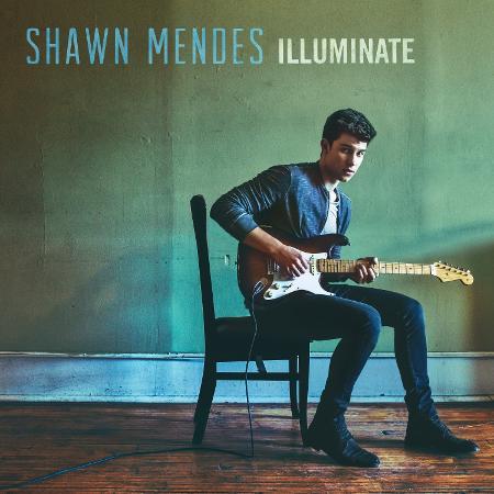 """Capa do disco """"Illuminate"""", de Shawn Mendes - Divulgação"""