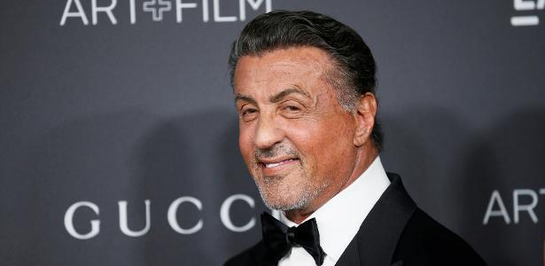 29.out.2016 - O ator Sylvester Stallone em festa de gala no museu LACMA, em Los Angeles