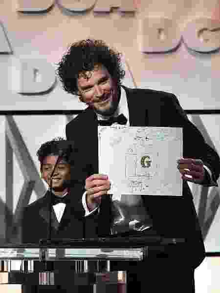 """Garth Davis, diretor de """"Lion"""", durante prêmio do sindicato dos diretores - Alberto E. Rodriguez/Getty Images for DGA"""