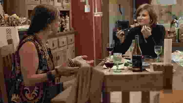 A diretora Eliane Brum foi a principal interlocutora de Laerte nas filmagens - Divulgação - Divulgação