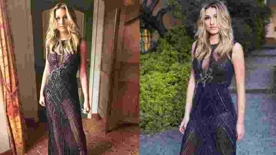 Sasha usa vestido Le Lis Blanc para evento de gala beneficente da Leonardo DiCaprio Foundation - Reprodução/Instagram