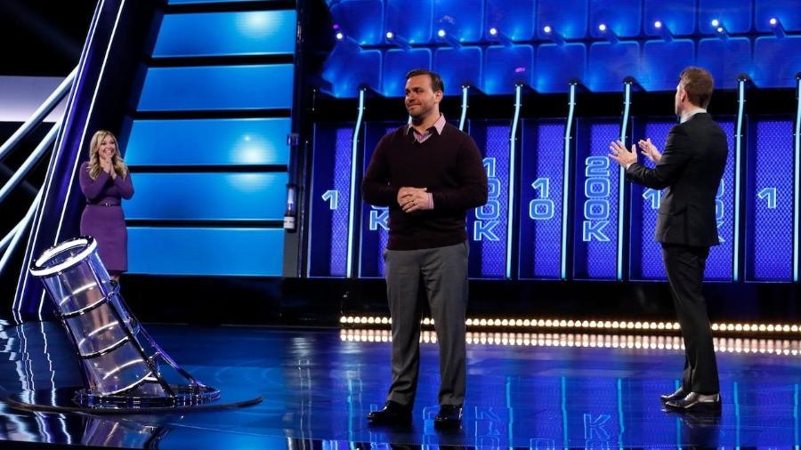 """Cena do game show """"The Wall"""", da rede norte-americana NBC - Divulgação/NBC"""