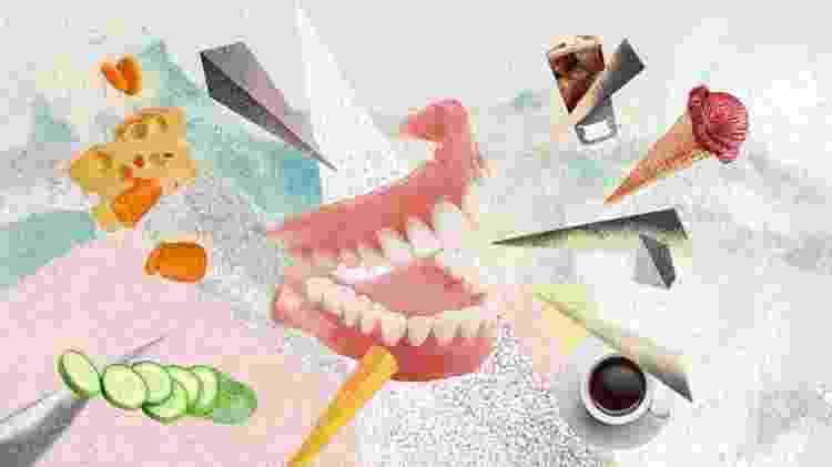 O Poder dos Alimentos - sensibilidade nos dentes - André Bergamin/VivaBem - André Bergamin/VivaBem