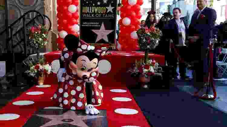 Minnie Mouse ganha estrela na Calçada da Fama de Los Angeles - REUTERS/Mario Anzuoni  - REUTERS/Mario Anzuoni