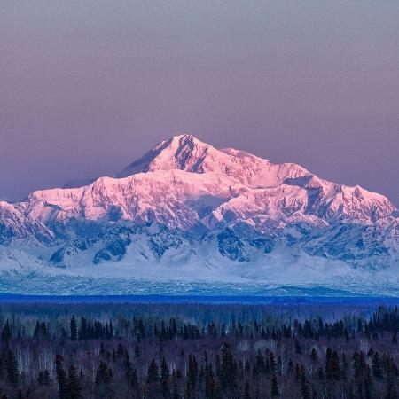 Monte Denali, no Alasca, Estados Unidos - Getty Images/iStockphoto