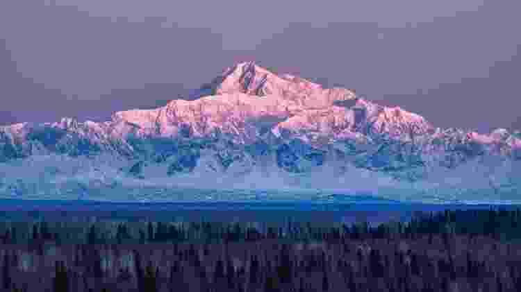 Monte Denali, no Alasca, Estados Unidos - Getty Images/iStockphoto - Getty Images/iStockphoto