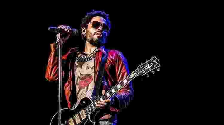 O músico Lenny Kravitz - Reprodução/Facebook/Mathieu Bitton - Reprodução/Facebook/Mathieu Bitton