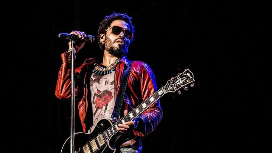 O músico Lenny Kravitz - Reprodução/Facebook/Mathieu Bitton