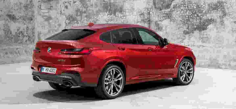 BMW X4 2019: segunda geração terá esta traseira polêmica, com leve toque de sedã -