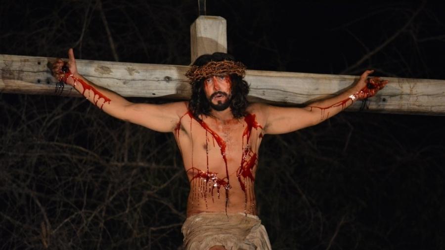 O ator Renato Goés como Jesus Cristo - Felipe Souto Maior/Divulgação