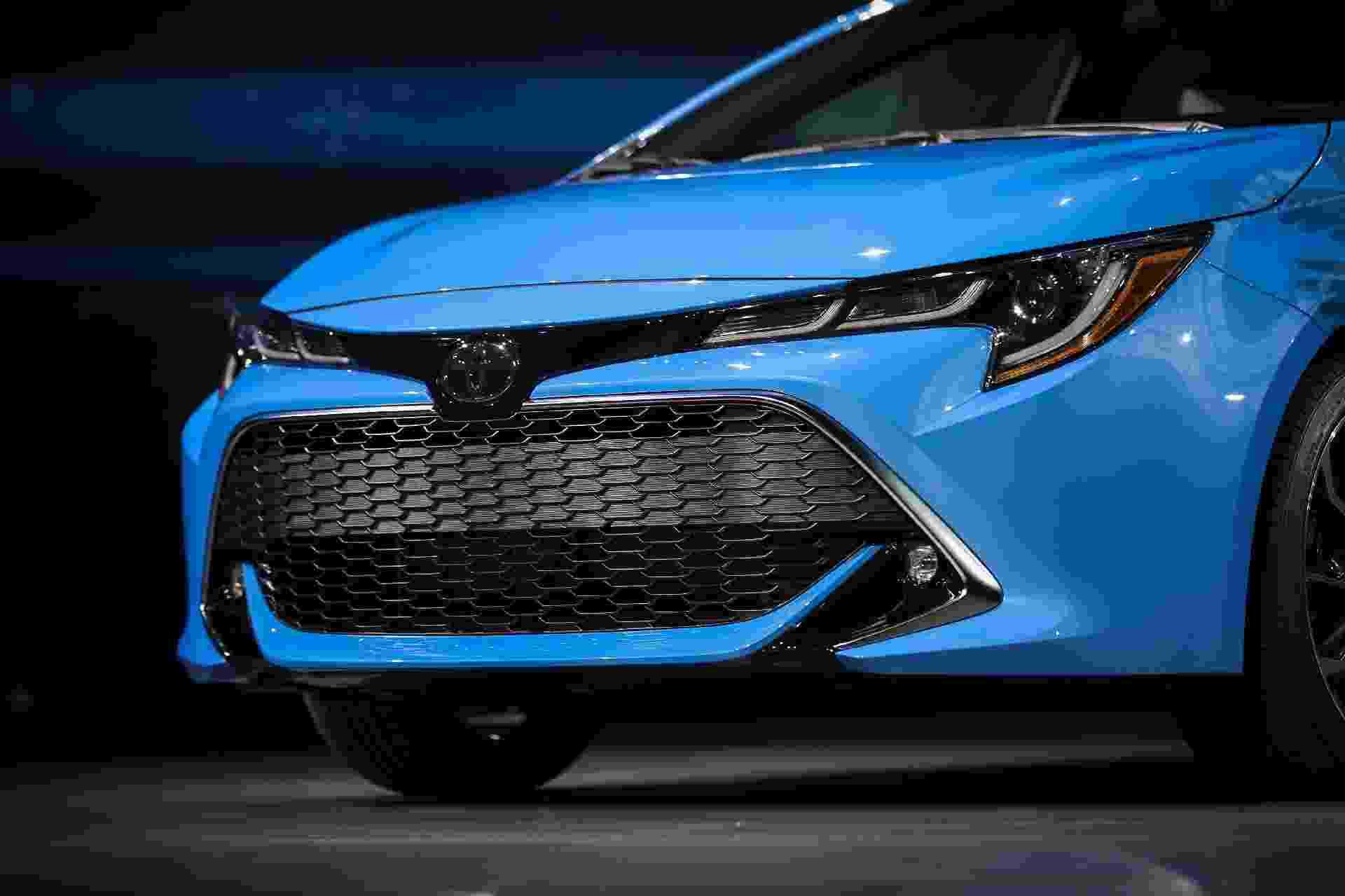 Toyota Corolla hatch no Salão de Nova York 2018 - Drew Angerer/Getty Images/AFP