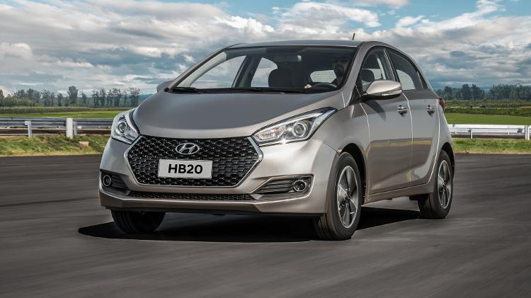 Hyundai HB20 2019 - Divulgação - Divulgação