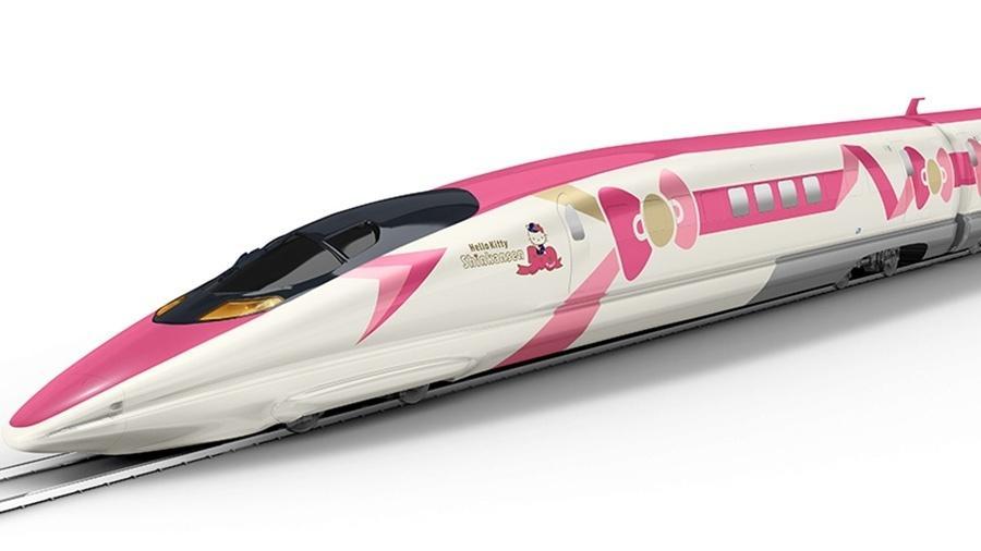 Trem Hello Kitty - Divulgação