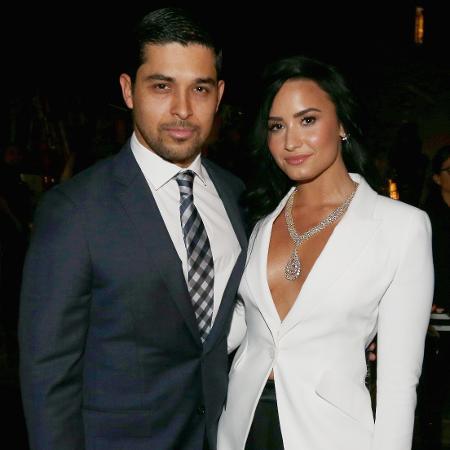 Wilmer Valderrama e Demi Lovato - Getty Images