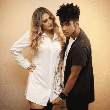 """Nadja Pessoa e Vinicius D""""Black - Reprodução/Instagram"""