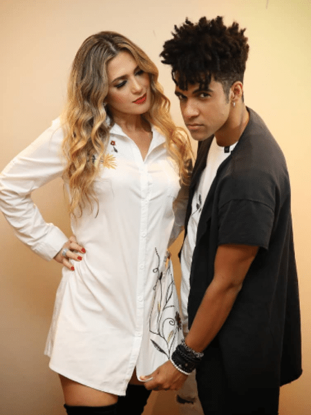 """Nadja Pessoa e Vinicius D""""Black estão casados há 8 anos - Reprodução/Instagram"""